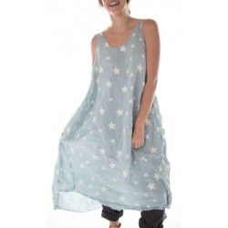 dress Layla Galaxy in Texas Sky