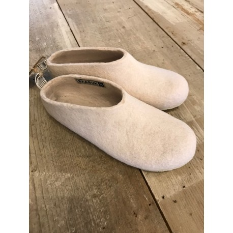 chaussons GUS rose clair