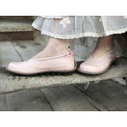 chaussures POND rosé