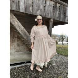 robe ORPHEE coton carreaux rose