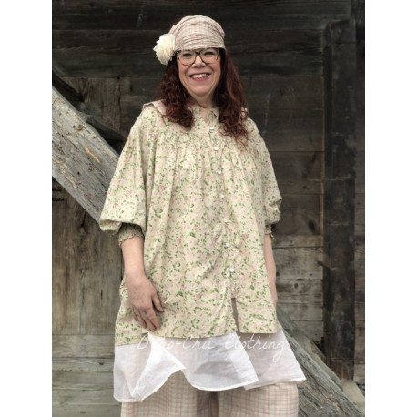 dress / apron MARTINE pink organza