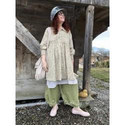 dress / apron MARTINE ecru organza