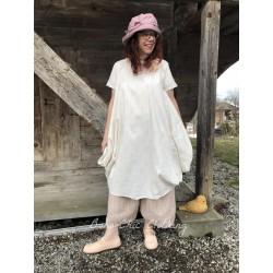robe FELICIE popeline fleurs rose