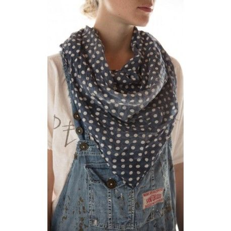 scarf Threadgood in Blue Dot