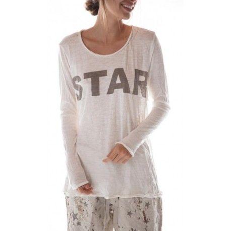 T-shirt Bold Star Dylan in True