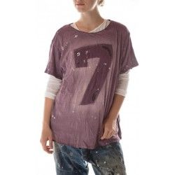 T-shirt Lucky in Purple Rain