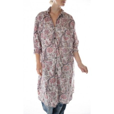 robe-veste Hudson Smock in Milly