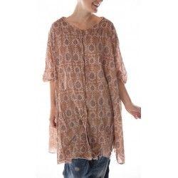 blouse Kimi Smock in Amber