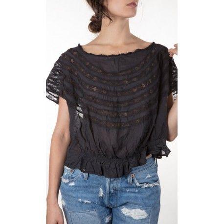 blouse Sloan in Inkblot