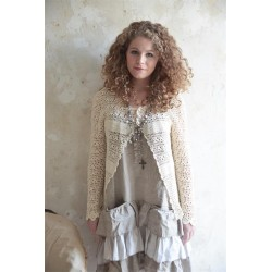 cardigan Natural choice en crochet