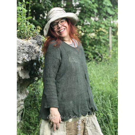 pullover Wabi Sabi Dark Moss