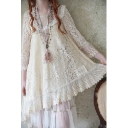 dress Lost bohemian in Cream Lace