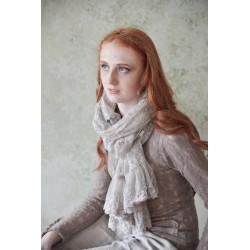 foulard Sweet believes en dentelle beige