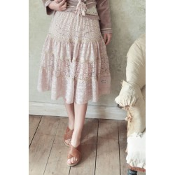 skirt Treasured feelings in Powder rose lace
