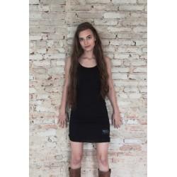 robe / tunique Pure joy en coton noir