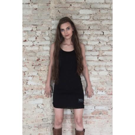 long top Pure joy in Black cotton