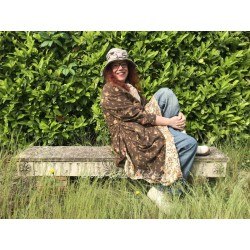 frock coat Olivia Clemens in Chocolat