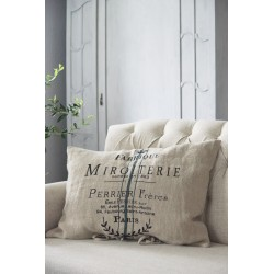 cushion cover Miroiterie 50 x 70 cm in linen