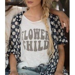 T-shirt Flower Child in True
