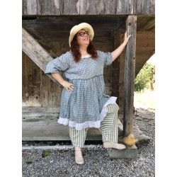 dress MYRIAM gingham cotton