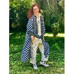robe-veste Hudson Smock in Big Dot Threadgood