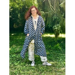 robe-veste Hudson Smock in Big Dot Threadgood