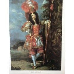 Poster on cartboard Empereur Leopold I