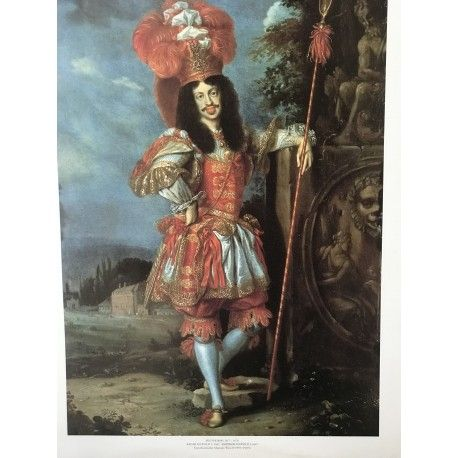 Poster on cartboard  Empereur Leopold I