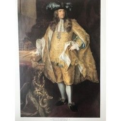 Poster sur carton Empereur Charles VI