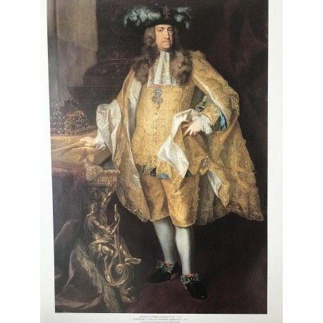 Poster on cartboard emperor Charles VI