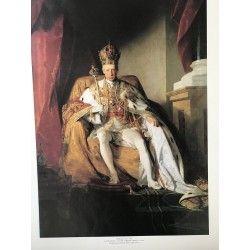 Poster sur carton Empereur Franz