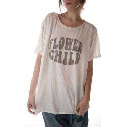 T-shirt Flower Child in True