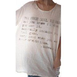 T-shirt Free Soul Bukowski in True