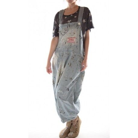 salopette Frankie Overalls in Railroad