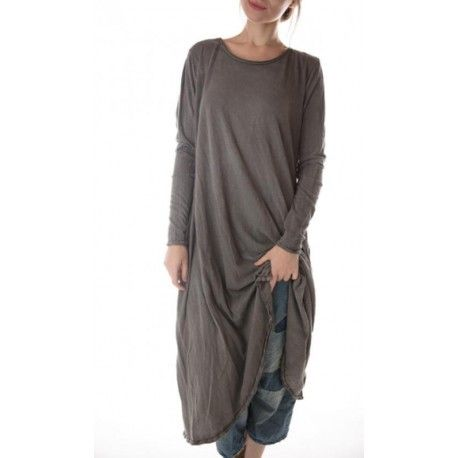 dress Babydoll with Long Sleeves in Shading