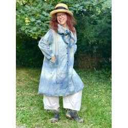 robe Daveney in Washed Indigo