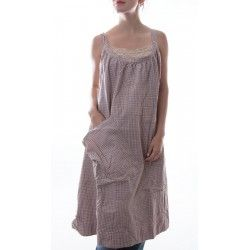 dress Bellabird Work Smock in Dahlia Check