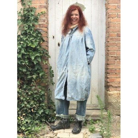 jacket Clancy Lu in Washed Indigo