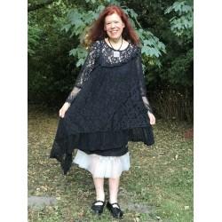 robe Lost bohemian en dentelle noire