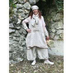 robe tablier MAEVA popeline fleurs