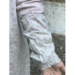 manchettes BLANDINE coton fleurs