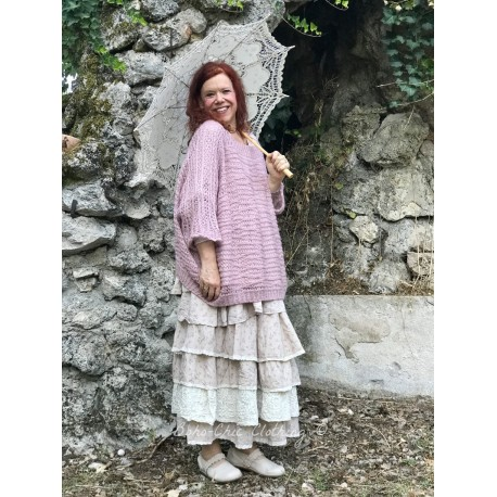 short sweater JOSEPH pink wool