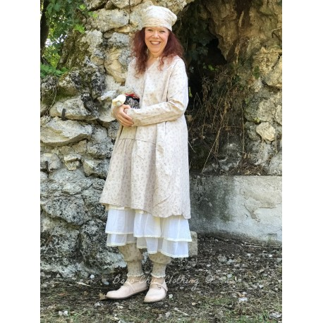 robe tunique MARGUERITE popeline fleurs