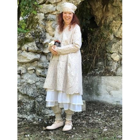 tunic dress MARGUERITE floral poplin