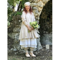 robe trapèze ELSA popeline fleurs