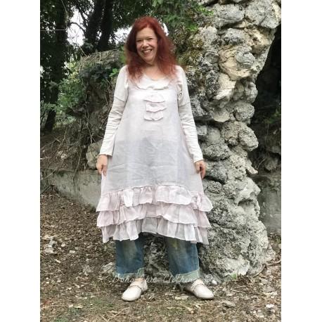 dress Natural sense in Pink Powder Linen