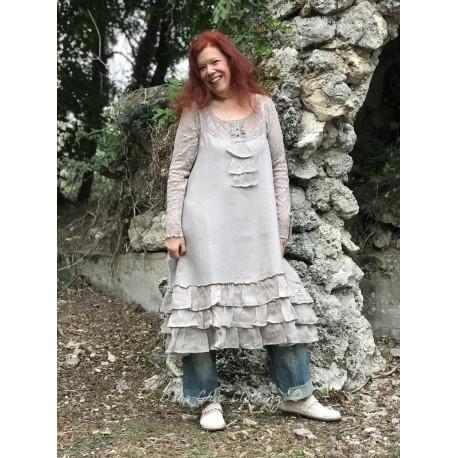 robe Natural sense en lin mocca