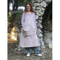 robe Bellabird Work Smock in Dahlia Check