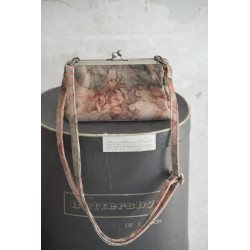 petit sac bandoulière Frame Bag en cuir imprimé marron