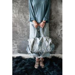 grand sac Joyous mind en denim